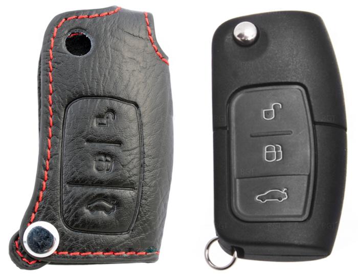 Чехол для выкидного ключа зажигания Ford Focus II, Fiesta, Mondeo, C
